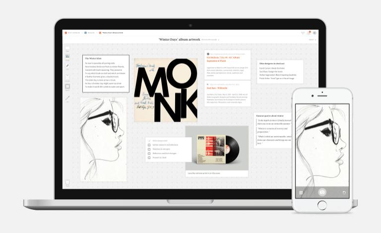 Milanote : un site pratique et creatif